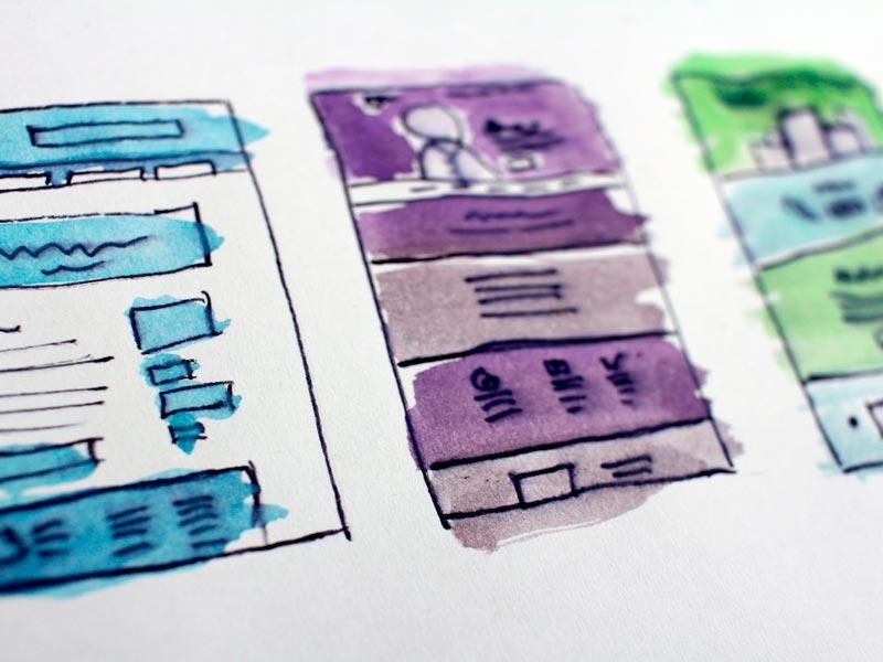 desenho de interface