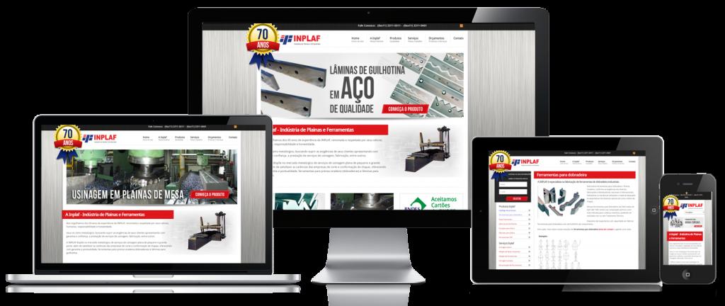 desenvolvimento site industria inplaf 3
