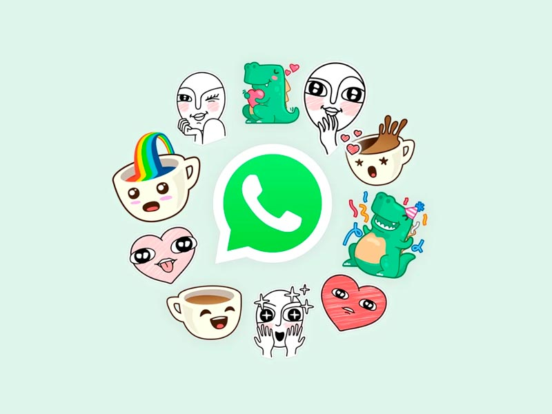 Whatsapp disponibiliza figurinhas para usuários